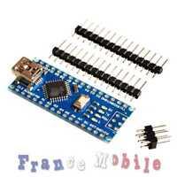 Carte Nano compatible ARDUINO V3.0 16M 5V USB CH340G non soudée 16Mhz ATmega328p