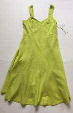 New With Tags Bright Lime Luna Luz Dress Size L