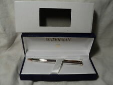 WATERMAN PREFACE SILVER   BALLPOINT PEN   NEW IN BOX  MADE IN FRANCE