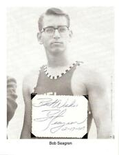 Bob Seagren Autograph World Record Pole Vaulter Olympic Champion #2