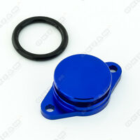 32mm BLUE ALUMINIUM SWIRL FLAP REPLACEMENT + O-RING FOR BMW 3 SERIES NEW