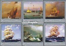 Mosambik 2566-2571 postfris MNH 2002 Wereld van Marine