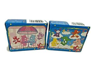 Care bear 50 piece puzzles Lot Of 2 Tumble & Jump, Yummy! Toy Carebears