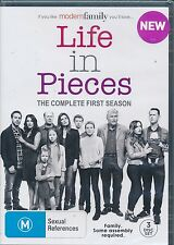Life In Pieces The COmplete First Season 1 One DVD NEW Region 4