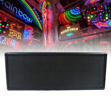 12x38 Display Rgb Full Color P5 Led Sign Programmable Scrolling Message Durable