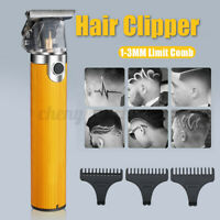 Professional Barber Trimmer Rechargeable Cordless Portable Hair Clipper Hot