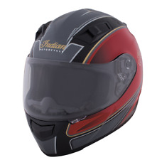 BLACK RED GLOSS OUTPOST FULL FACE HELMET INDIAN MOTORCYCLE DOT ECE size S M L XL