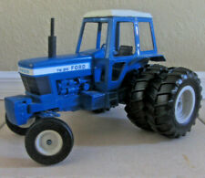 Vintage 1980s ERTL Ford TW-20 Tractor - Dual Back Wheels All Metal Body 818 819