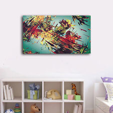 60×100×3cm Graffiti Art Canvas Print Framed Wall Art Home Decor Gift Painting II