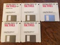 Central Point Mac Tools For Macintosh Version 2.0 USED Disks Only