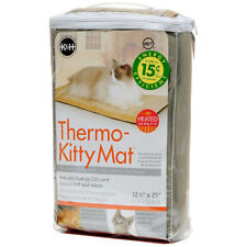 """K&H Pet Products Thermo-Kitty Mat 12.5"""" X 25"""" X 0.5"""" Brand New Free Shipping"""