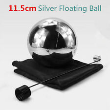 Silver Zombie Floating Ball (11.5cm) With Foulard - Magic Trick,Stage,Mentalism