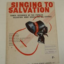 songbook SINGING TO SALVATION 1964