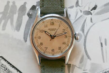 Universal Geneve Military Style Watch 20503 Caliber 267 Serviced - Free Shipping