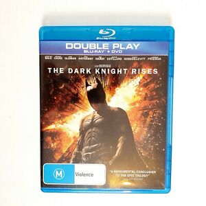 Batman The Dark Knight Rises Movie Bluray Free Postage Blu-ray - Christian Bale