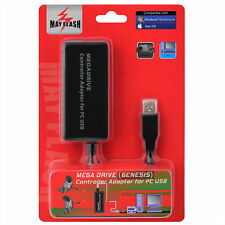 MayFlash Sega Mega Drive MD Genesis Controller Adapter for PC USB Windows Mac