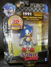 Sonic the Hedgehog 20th Anniversary figure New Factory Sealed