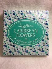 New listing Jill Walker Caribbean Flower Coasters Set Of 4 Sealed New