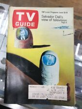 TV Guide 1968 Jun 8-14 Salvador Dali