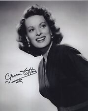 MAUREEN O'HARA SIGNED AUTOGRAPHED BW 8X10 PHOTO HOLLYWOOD LEGEND!!!