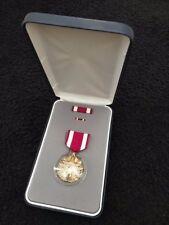 US Military Meritorious Service Medal, Ribbon & Lapel Pin, Presentation Box LIGI