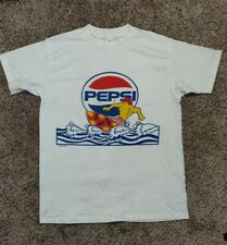 New listing Vintage Pepsi Cola Shirt Surf Single Stitch Surfing Made In USA 1990 90s Soda