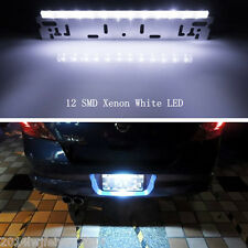 Xenon White 12-SMD Bolt-On License Plate LED Lamp/ Car SUV Backup Reverse Lights