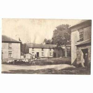 LLANWNEN Village Showing Hunting Dogs, Cardiganshire Postcard Unposted