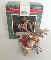 Hallmark Keepsake Ornament 1992 Prancer & Vixen No. 2 Santa & His Reindeer