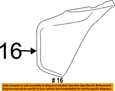 TOYOTA OEM 12-14 Tacoma Front Bumper-Cover Extension Right 5211204050