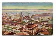 Vintage Postcard INDIA BOMBAY Mumbai  View from the Clock Tower