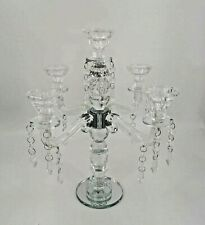 5 Heads Crystal Candle Holder _For Wedding, Party, Events, Home Decor