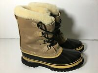 Sorel Kaufman Caribou Mens Size 11 Winter Insulated Snow Boots  Made In Canada