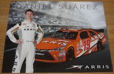 2016 Daniel Suarez Arris Toyota Camry NASCAR Xfinity postcard