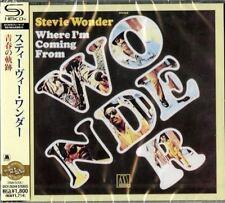 STEVIE WONDER-WHERE I'M COMING FROM-JAPAN SHM-CD D50