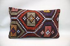 Kilim Sofa Pillow, 12x20 inc, Decorative Pillow, Throw Pillow, Accent Pillow