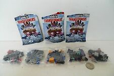 Transformers KRE-O Micro Changers Collection 1 Lot of 5 Sealed in bags !!!
