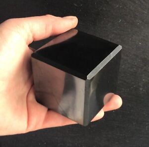 Shungite Crystal Cube 354g 50mm Miracle Protection Alchemy EMF Healing Miracle