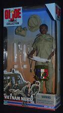 "GI Joe VIETNAM NURSE Classic Collection Black Female Action Figure 12"" MIP"