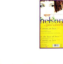 """Nelson Et Gino Vannelli 12"""" L'amour En Face - France (EX/EX+)"""