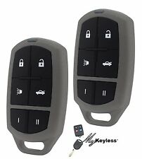 New Jaguar Replacement Keyless Entry Car Remote Alarm Transmitter Key Fob - Pair