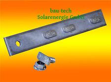 6 Stück Profil Verbinder Edelstahl A2 Alu Montage Profil Photovoltaik Solar PV