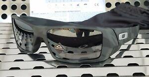New Oakley GASCAN 9014-6160 Sunglasses Matte Black Camo w/ Prizm Black Polarized