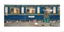 Orient Express Ooh La La Sam Toft Fantasy Art Print 34x14 Image Conscious