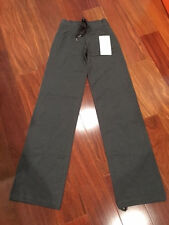 NWT Lululemon Womens Heathered Gray French Terry Lulu Pant II 2