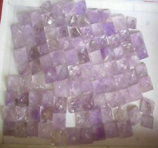 100 Tiny Natural Purple Amethyst Quartz Crystal Pyramid Wholesale Price 19-22mm