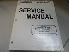 Mercury Mariner Service Manuell 135 150 Optimax Dfi OG590000 90-855347R1