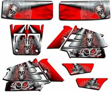 YAMAHA BANSHEE GRAPHICS WRAP DECAL STICKER KIT TURBO CHARGED RED