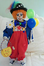 Twinkles The Circus Clown Doll By The Danbury Mint