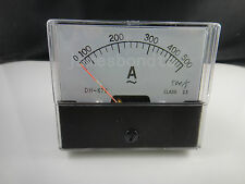 Analog Amp Panel Meter Current Ammeter DH-670 AC 0-500A 500A